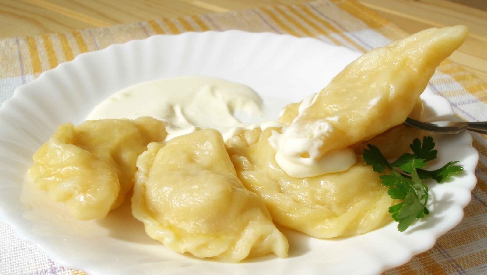 Вареники с картошкой и капустой рецепт